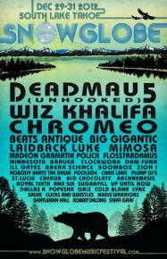 SnowGlobe Music Festival 2012: Video Lineup Announcement