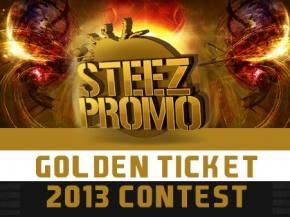Steez Promo Golden Ticket Giveaway