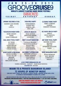 Win a DJ Slot on Groove Cruise Miami 2013
