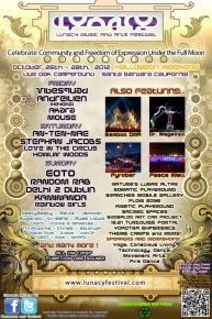 Lunacy Music & Arts Festival Preview