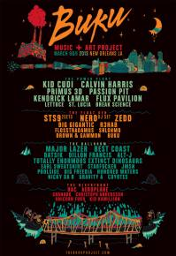 BUKU Music + Art Project returns to New Orleans in 2013