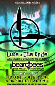 Luke the Knife to Cut Up Denver Tonight