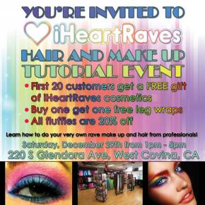 iHeartRaves to Host In-Store EDM Fashion Tutorial Event in Southern California