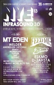 Infrasound NYE Preview Video