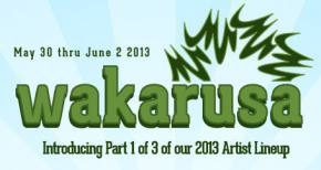 Wakarusa Festival announces first round of headliners
