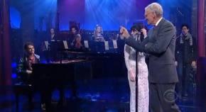 Zedd makes a splash with Foxes on Letterman