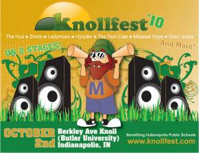 Braving the elements at Knollfest