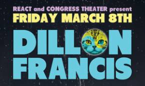 Dillon Francis, Flosstradamus to play Congress Theater in Chicago March 8th