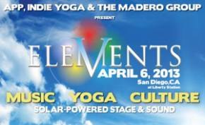 V Elements Festival brings music, yoga to San Diego April 6