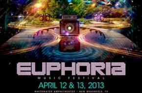 EUPHORIA (New Braunfels, TX) announces headliners for April 12-13 festival