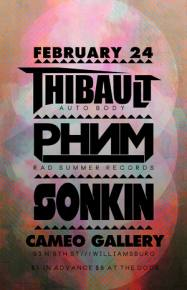 Wyllys Brooklyn EDM showcase to feature Thibault, PHNM and Sonkin Preview