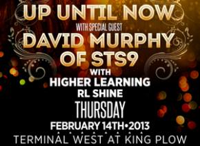 Up Until Now with David Murphy of STS9 tonight at Terminal West in Altanta