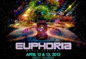 Euphoria Festival 2013 (New Braunfels, TX - April 12-13) Preview Preview
