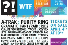 What The Festival reveals phase 1 lineup, tickets on-sale Thursday Preview