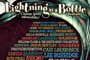 Lightning in a Bottle (July 11-15 - Temecula, CA) reveals lineup
