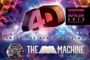 4th Dimension: Altanta's biggest EDM monthly brings The M Machine to the Masquerade Preview