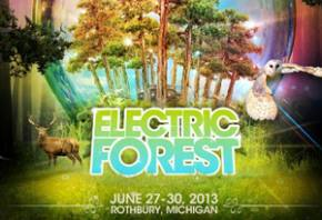 Electric Forest Festival 2013 reveals second wave headliners