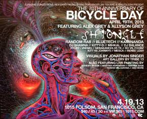 RE:CREATION Bicycle Day 2013 San Francisco Celebration & Compilation