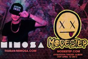 Modestep & Mimosa / Roseland Theatre (Portland, OR) / 4-16-2013 Preview