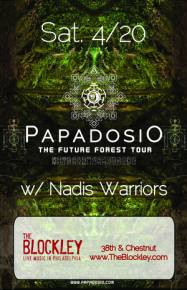 Papadosio & The Nadis Warriors Streaming LIVE from The Blockley in Philadelphia