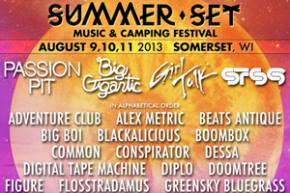 Summer Set Music Festival returns to Somerset, WI Aug 9-11