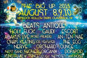 The Big Up reveals full lineup, Kung Fu party at Brooklyn Bowl tomorrow!