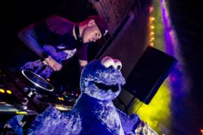 Cookie Monsta & FuntCase Slideshow / Lizard Lounge (Dallas, TX) / 5-4-2013