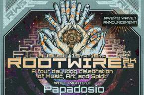Papadosio reveals Rootwire 2013 lineup, returns August 15-18 to Logan, OH