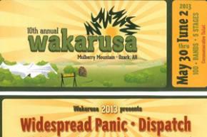 Wakarusa 2013 Mixtape