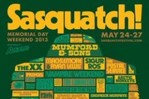 Sasquatch Festival / The Gorge (George, WA) / Day 1 Review 5.24.2013