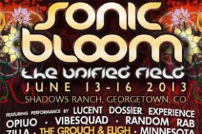 Sonic Bloom 2013 Preview & Schedule