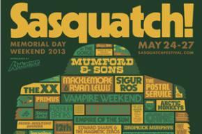 Sasquatch Festival / The Gorge (George, WA) / Day 2 Review 5.25.2013