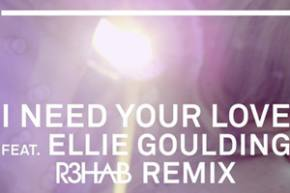 Calvin Harris & Ellie Goulding: I Need Your Love (R3hab Remix)