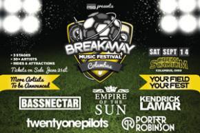 Prime Social Group announces Breakaway Music Festival in Columbus, Dallas this September