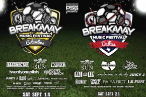 Win VIP Tickets to Prime Social Group's inaugural Breakaway Music Festivals