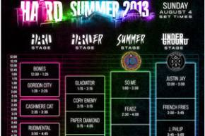 HARD Summer (August 3-4 - Los Angeles, CA) reveals daily schedule