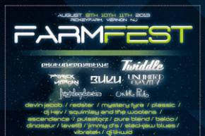 Farm Fest hits New Jersey with Phutureprimitive, BUKU August 9-11 Preview