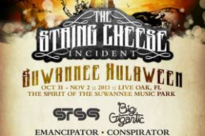 Conspirator, Emancipator to join STS9, Big G at String Cheese Incident's HULAWEEN