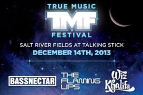 True Music Festival (December 14 - Scottsdale, AZ) reveals headliners
