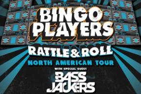 Bingo Players unveil Rattle & Roll North American dates, new stage design