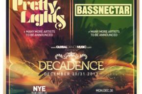 Decadence NYE brings Pretty Lights, Bassnectar to Denver
