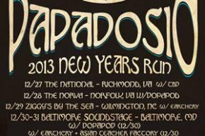 Papadosio announces 5-night New Year's Eve run