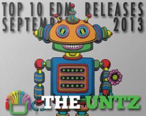 Top 10 EDM Releases - September 2013