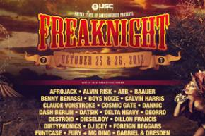 FreakNight 2013 (Oct 25-26 - Seattle, WA) gets freakier with huge Phase 3 lineup