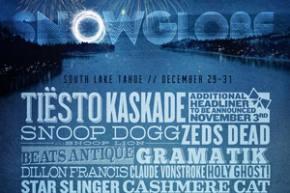 SnowGlobe returns to South Lake Tahoe, CA with big NYE headliners