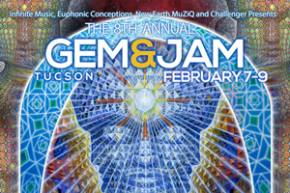 8th annual Gem & Jam (Feb 7-9 - Tucson, AZ) reveals brilliant lineup