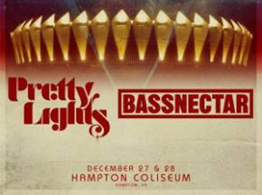 BASSLIGHTS (Bassnectar + Pretty Lights) returns Dec 27-28 to Hampton, VA!