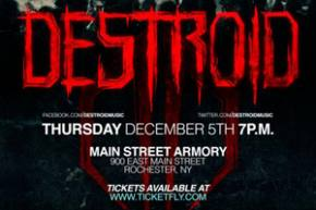 DESTROID ravages Main Street Armory in Rochester Dec 5th