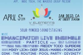 V Elements (April 5 - San Diego, CA) reveals Phase I lineup!