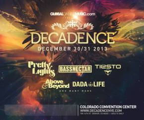Decadence NYE (Dec 30-31 - Denver, CO) Preview
